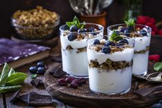 Creme Brulee, Granola, Mousse, Panna Cotta, Ethnic Recipes, Food, Discovery Zone, Business Events, Dairy