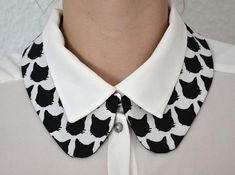 21 Different Shirt Collar Designs In All Collar Types – Sewing Skills Fashion Details, Diy Fashion, Fashion Tips, Fashion Design, Ladies Fashion, Origami Fashion, Fashion Photo, Collar And Cuff, Collar Necklace