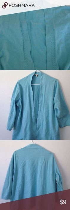 Light blue cardigan Talbots light blue cardigan very good condition Talbots Sweaters Cardigans