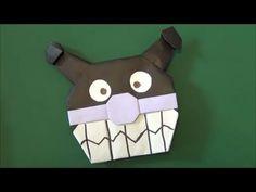 「バイキンマン」折り紙 折ってみた「baikinman」origami - YouTube