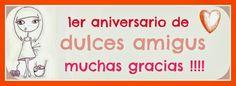 Hoy el Primer aniversario del blog Blog, Decor, First Anniversary, Trapillo, Hand Made, Patterns, Decoration, Blogging, Decorating