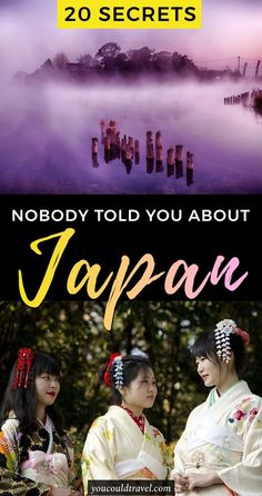 20 things nobody told you about visiting Japan - Are you ready to visit Japan? Learn how to prepare for your visit and read these 20 things nobody told you about visiting Japan. Check out why this country is the best place in the whole world and what to e Japan Travel Guide, Tokyo Travel, Asia Travel, Travel Guides, Eastern Travel, Travel Plane, Wanderlust Travel, Go To Japan, Visit Japan