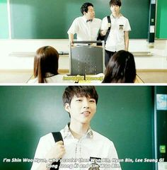 Hi! School: Love On. You were always cooler than those guys to me, Woohyun