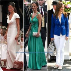 Los vestidos de la boda del Príncipe William y Kate Middleton