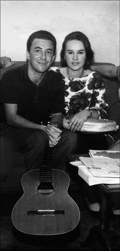 João (b. 10 Jun 1931) and Astrud Gilberto (b. 29 Mar 1940) by Jos L Knaepen