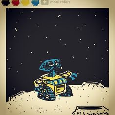 Free Will Robot Wall-E (Pixar & Walt Disney Studio Animation) / Anime Comics Manga Cartoon Movie / 로봇 월이 / 픽사 월트 디즈니 애니메이션 만화 영화