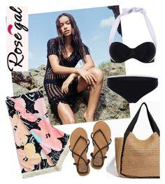 """Rosegal Bikini"" by laurabosch on Polyvore featuring Billabong"