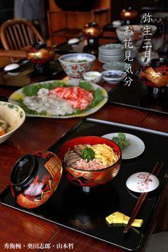 秀衡椀・奥田志郎・山本哲 Japanese Food, Sushi, Table Settings, Party, Recipes, Foods, Food Food, Table Top Decorations, Parties