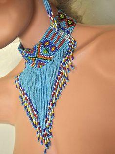 India Beaded Necklace set