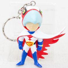 Kagaku Ninja Tai Gatchaman G-1 Mascot Figure Key Chain JAPAN ANIME MANGA 2