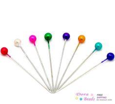Barato 12 casos bola mista Craft costura Pins 3.7 x 0.4 cm, Compro Qualidade Agulhas de tricô diretamente de fornecedores da China:        Bamboo Crochet Hooks (US Size 9 / 5.5mm) 15 cm, vendido por pacote de 5 ( 800.002-9 ) agulhas de tricô     US $ 2