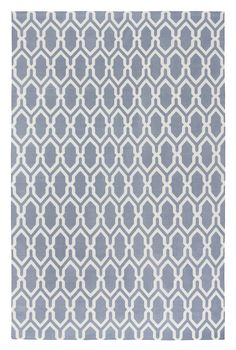 Jali Dove by The Rug Company | Cotton Flatweave dhurries and kilims