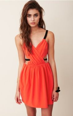 orange and cut out