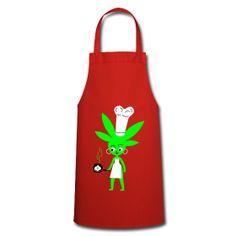 Marihuanita Cocinera . Delantal. 26,50 €