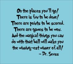 dr seuss quotes | Dr Seuss Wall Decal 'Oh The Places You'll Go' Quote by InitialYou on ...