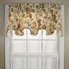 Farrell Scallop Valance   Best Window Treatments