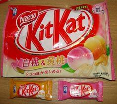 White Peach & Yellow Peach Kit Kat - Japan