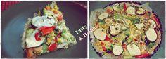 Tarta z kurczakiem i cukinią!   Przepis: http://tasty-and-healthy.blog.pl/2014/04/10/tarta-z-kurczakiem-i-cukinia/