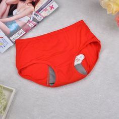 2Pcs Sexy Leakproof Underwear Health Seamless Underpants
