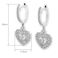 Diamond Earrings, $1,914.84