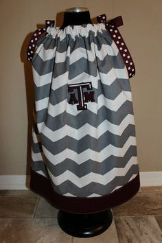 Texas A&M Aggies Game Day Toddler Pillowcase by SewSnazzybyBrook