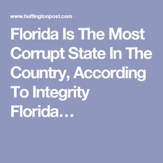 sections itsallpolitics most corrupt state country