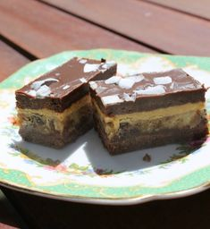 Chocolate Caramel Slice, Oh And It's Raw.