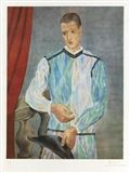 Pablo Picasso - Arlequin, 1966, Offset color... on MutualArt.com
