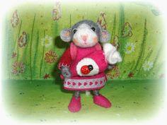 Susannelfes Blumenkinder für den Jahreszeitentisch: Maus am Mittwoch , Teil 2 ♥
