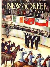 I wish the National Horse Show was still in NYC!!!!!! (The New Yorker ~ Nov 6, 1937: Madison Square Garden)