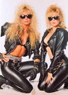 """ Nasty Habits""  Emi Canyn  and Donna Jean McDaniel . Motley Crue backup girls"