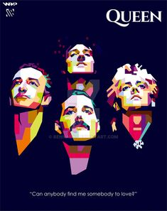 Queen WPAP by bennadn.deviantart.com on @DeviantArt