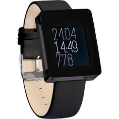 Wellograph Wearable Tech Watch - Black Chrome. DISPLAY: 1.26in Low-Power LCD + Integrated Backlight. BATTERY: 210 mAH /Up to 7 Days. SENSORS: Tri-LED HR Sensor + 9-Axis Accelerometer. CONNECTIVITY: Bluetooth 4.0 Low Energy. Tracks not just quantity, but also the quality of your activities Tells not just how much you move, but how hard you exercise. Meaningful picture of your health through simple info graphs, instead of rambling digits and numbers. A running watch for workouts that tracks...