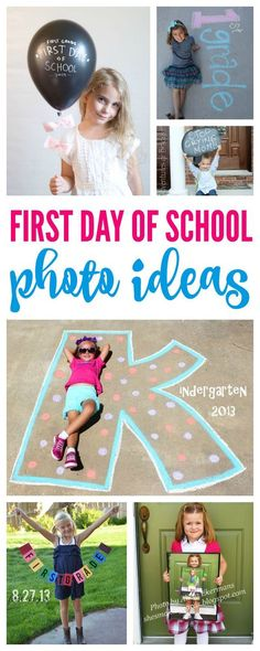 First Day of School Photo Ideas! Capture the back to school moments each year fo… First Day of School Photo Ideas! Capture the back to school moments each year for your kids! First Day Of School Pictures, School Photos, Picture Day School, Starting School, Beginning Of School, School Daze, School Fun, School Style, School 2017