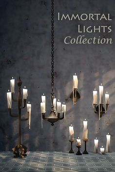 Sims 4 CC's - The Best: Immortal Lights Collection by Kiwisims