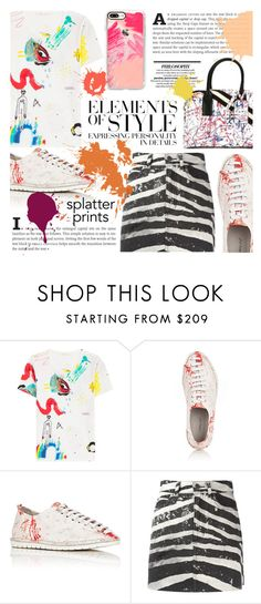 """""""Splatter Prints"""" by sinesnsingularities ❤ liked on Polyvore featuring Marc Jacobs, Marsèll, Casetify, Vera Wang, contestentry and paintiton"""