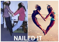 Nailed it. My seesters and their many talents