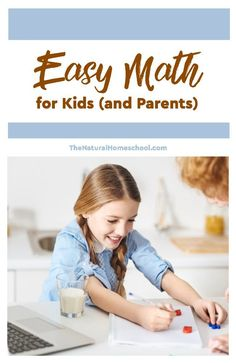 Are you tired of finding creative ways to teach Math to your kids ages Kinder through 5th grade? Let me show a way to easy Math for kids (and honestly, for us, parents, too!).