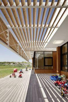 przedszkole w Austrii Solid Architecture
