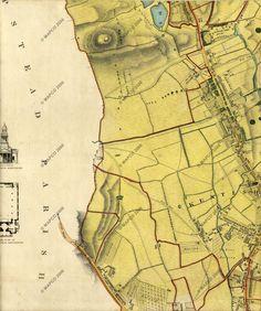 London 1834, Fleet River from Highgate Ponds to Kentish Town