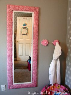 Make a frame for your mirror.