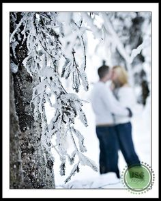 engagement winter photoshoot but couple in focuw would be best