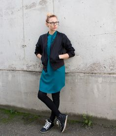 Helmi Tunic Dress - DIY Stories Diy Dress, Sewing Projects, Sewing Patterns, Helmet, Normcore, Tunic, Dresses, Style, Fashion