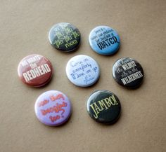 Walt Disney World Quote 1 Magnets or PinBack Buttons  by HowlOwl.