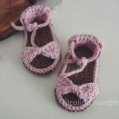 Springs sandals baby crochet