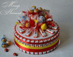 Gallery.ru / Фото #114 - Тортики из конфет - monier