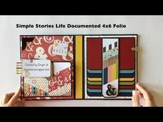 Simple Stories Life Documented 4×6 Folio | My Sisters Scrapper | Bloglovin'