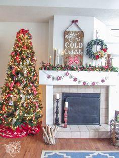 Christmas Home Tour - Pocketful of Posies