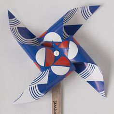 pinwheel in red, white and blue; jessica nielsen