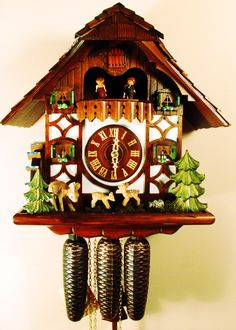 Cuckoo clock - always loved these clocks, the more moving parts the better